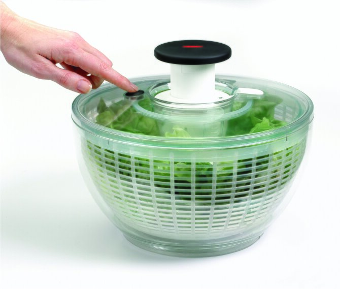 The OXO Saladspinner